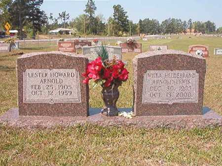 HELDEBRAND ARNOLD LEWIS, WILLA - Nevada County, Arkansas | WILLA HELDEBRAND ARNOLD LEWIS - Arkansas Gravestone Photos