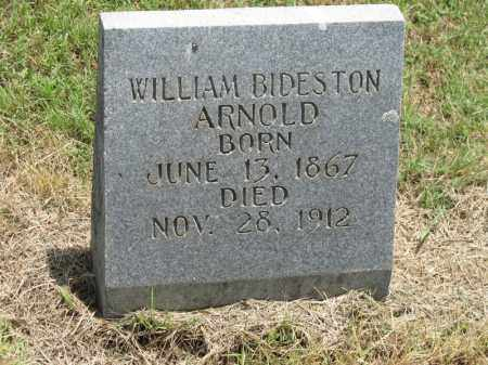 ARNOLD, WILLIAM BIDESTON - Nevada County, Arkansas | WILLIAM BIDESTON ARNOLD - Arkansas Gravestone Photos