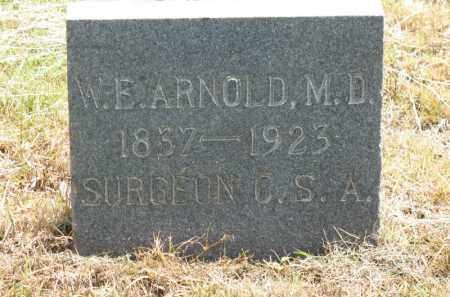 ARNOLD, WILLIAM E - Nevada County, Arkansas | WILLIAM E ARNOLD - Arkansas Gravestone Photos