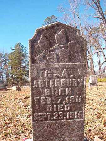ARTERBURY, C A - Nevada County, Arkansas | C A ARTERBURY - Arkansas Gravestone Photos