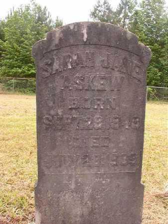 ASKEW, SARAH JANE - Nevada County, Arkansas | SARAH JANE ASKEW - Arkansas Gravestone Photos