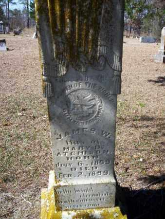 ATCHISON, JAMES W. - Nevada County, Arkansas | JAMES W. ATCHISON - Arkansas Gravestone Photos
