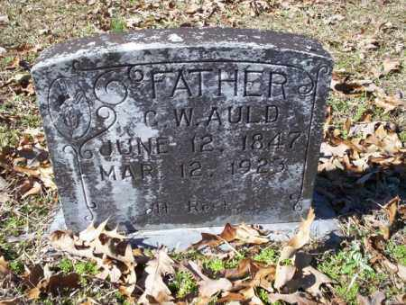 AULD, G. W. - Nevada County, Arkansas | G. W. AULD - Arkansas Gravestone Photos