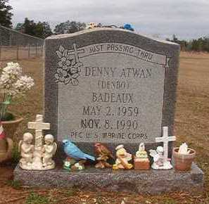BADEAUX (VETERAN), DENNY ATWAN - Nevada County, Arkansas | DENNY ATWAN BADEAUX (VETERAN) - Arkansas Gravestone Photos