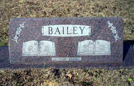 BAILEY, ALLEN - Nevada County, Arkansas | ALLEN BAILEY - Arkansas Gravestone Photos