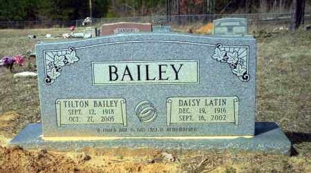 BAILEY, TILTON - Nevada County, Arkansas | TILTON BAILEY - Arkansas Gravestone Photos