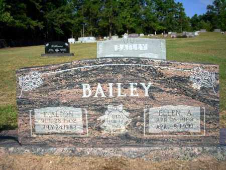 BAILEY, ELLEN A - Nevada County, Arkansas | ELLEN A BAILEY - Arkansas Gravestone Photos