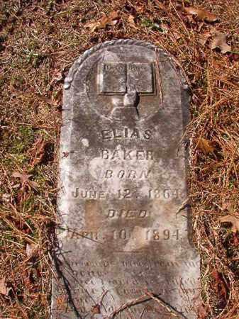BAKER, ELIAS - Nevada County, Arkansas | ELIAS BAKER - Arkansas Gravestone Photos
