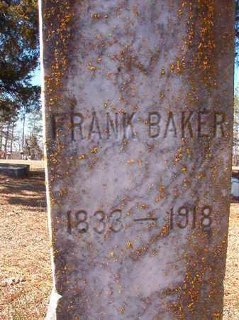 BAKER, FRANK - Nevada County, Arkansas | FRANK BAKER - Arkansas Gravestone Photos