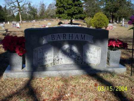 BARHAM, BONNIE - Nevada County, Arkansas | BONNIE BARHAM - Arkansas Gravestone Photos