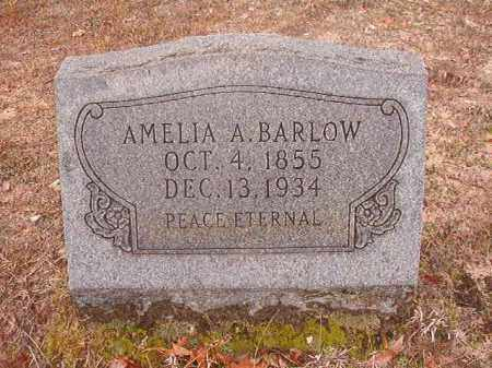 BARLOW, AMELIA A - Nevada County, Arkansas | AMELIA A BARLOW - Arkansas Gravestone Photos
