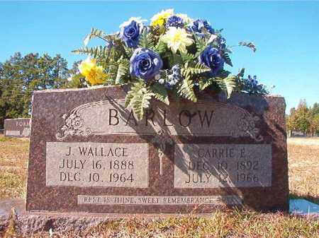 BARLOW, J WALLACE - Nevada County, Arkansas | J WALLACE BARLOW - Arkansas Gravestone Photos