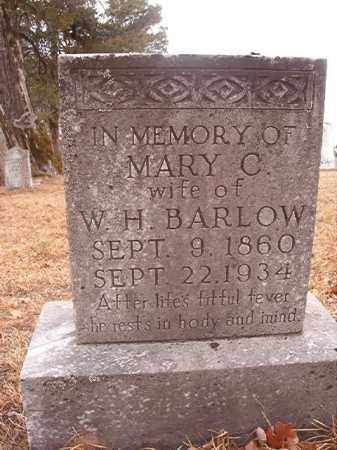 BARLOW, MARY C - Nevada County, Arkansas | MARY C BARLOW - Arkansas Gravestone Photos