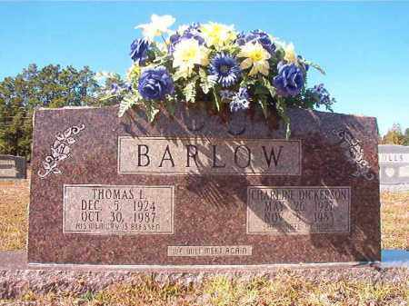 BARLOW, CHARLINE - Nevada County, Arkansas | CHARLINE BARLOW - Arkansas Gravestone Photos