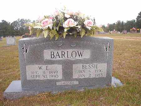 BARLOW, W E - Nevada County, Arkansas | W E BARLOW - Arkansas Gravestone Photos