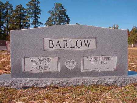 BARLOW, WILLIAM DAWSON - Nevada County, Arkansas | WILLIAM DAWSON BARLOW - Arkansas Gravestone Photos
