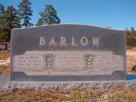 BARLOW, WILLIAM AUBREY - Nevada County, Arkansas | WILLIAM AUBREY BARLOW - Arkansas Gravestone Photos