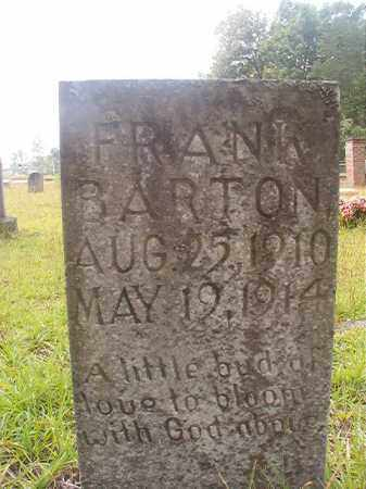 BARTON, FRANK - Nevada County, Arkansas | FRANK BARTON - Arkansas Gravestone Photos
