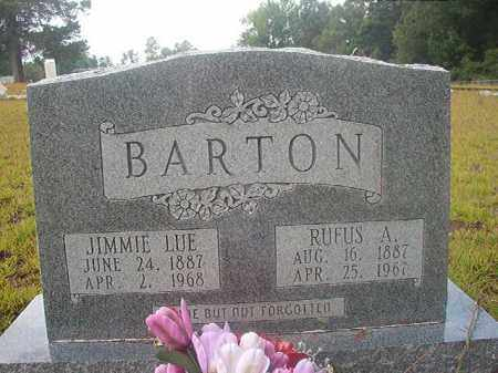 BARTON, RUFUS A - Nevada County, Arkansas | RUFUS A BARTON - Arkansas Gravestone Photos