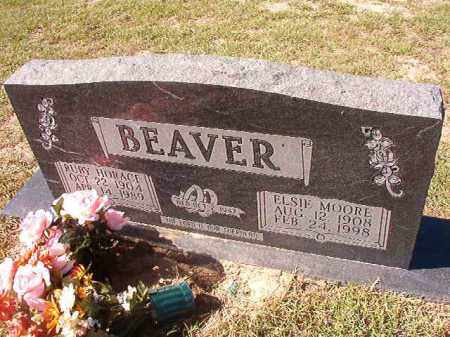 MOORE BEAVER, ELSIE - Nevada County, Arkansas | ELSIE MOORE BEAVER - Arkansas Gravestone Photos