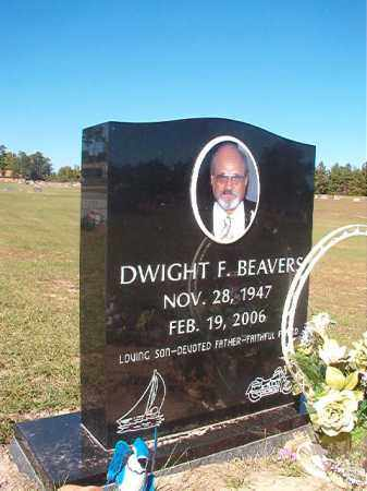 BEAVERS, DWIGHT F - Nevada County, Arkansas | DWIGHT F BEAVERS - Arkansas Gravestone Photos