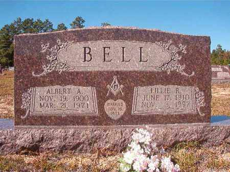 BELL, ALBERT A - Nevada County, Arkansas | ALBERT A BELL - Arkansas Gravestone Photos