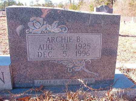 BENTON, ARCHIE B - Nevada County, Arkansas | ARCHIE B BENTON - Arkansas Gravestone Photos