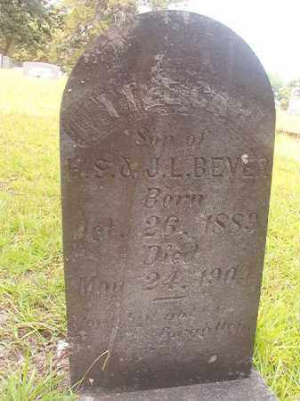 BEVER, CARL - Nevada County, Arkansas | CARL BEVER - Arkansas Gravestone Photos