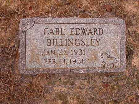 BILLINGSLEY, CARL EDWARD - Nevada County, Arkansas | CARL EDWARD BILLINGSLEY - Arkansas Gravestone Photos