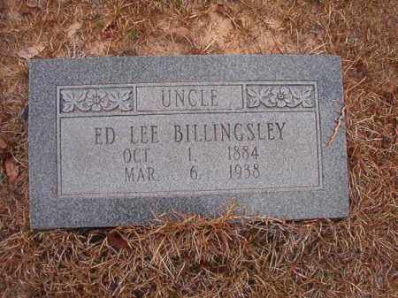 BILLINGSLEY, ED LEE - Nevada County, Arkansas | ED LEE BILLINGSLEY - Arkansas Gravestone Photos