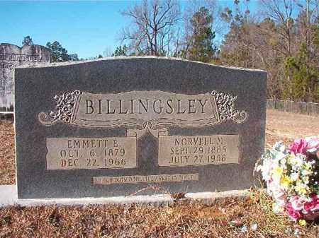 BILLINGSLEY, NORVELL M - Nevada County, Arkansas | NORVELL M BILLINGSLEY - Arkansas Gravestone Photos