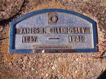 BILLINGSLEY, JAMES I - Nevada County, Arkansas | JAMES I BILLINGSLEY - Arkansas Gravestone Photos
