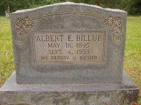 BILLUE, ALBERT E - Nevada County, Arkansas | ALBERT E BILLUE - Arkansas Gravestone Photos