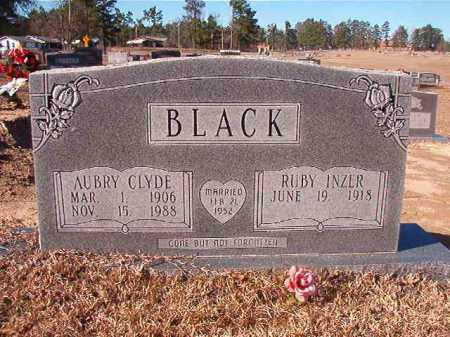 BLACK, AUBRY CLYDE - Nevada County, Arkansas | AUBRY CLYDE BLACK - Arkansas Gravestone Photos