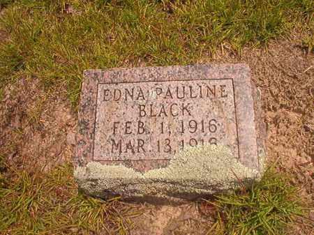 BLACK, EDNA PAULINE - Nevada County, Arkansas | EDNA PAULINE BLACK - Arkansas Gravestone Photos