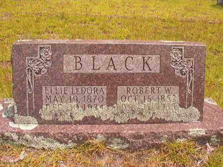 BLACK, ELLIE LEDORA - Nevada County, Arkansas | ELLIE LEDORA BLACK - Arkansas Gravestone Photos