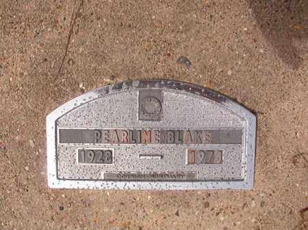 BLAKE, PEARLINE - Nevada County, Arkansas | PEARLINE BLAKE - Arkansas Gravestone Photos