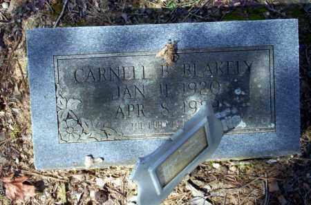 BLAKELY, CARNELL B - Nevada County, Arkansas | CARNELL B BLAKELY - Arkansas Gravestone Photos
