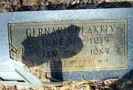 BLAKELY, GERNARD - Nevada County, Arkansas | GERNARD BLAKELY - Arkansas Gravestone Photos
