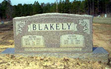PETERS BLAKELY, LUELLA - Nevada County, Arkansas | LUELLA PETERS BLAKELY - Arkansas Gravestone Photos