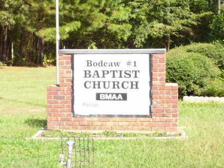 *BODCAW CEMETERY CHURCH SIGN,  - Nevada County, Arkansas |  *BODCAW CEMETERY CHURCH SIGN - Arkansas Gravestone Photos