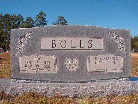 BOLLS, ROY - Nevada County, Arkansas | ROY BOLLS - Arkansas Gravestone Photos