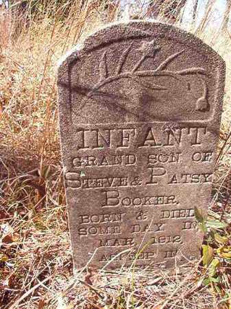 BOOKER, INFANT SON - Nevada County, Arkansas | INFANT SON BOOKER - Arkansas Gravestone Photos