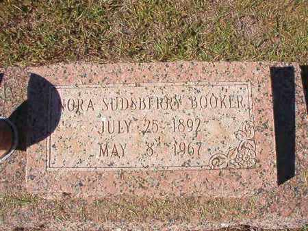 BOOKER, NORA - Nevada County, Arkansas | NORA BOOKER - Arkansas Gravestone Photos