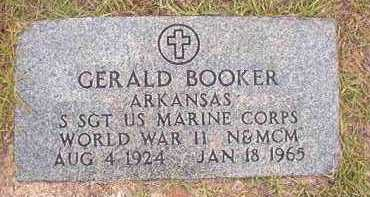 BOOKER (VETERAN WWII), GERALD - Nevada County, Arkansas | GERALD BOOKER (VETERAN WWII) - Arkansas Gravestone Photos