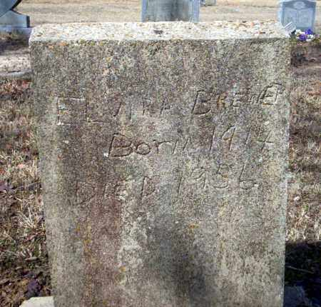 BREWER, ELVIRA - Nevada County, Arkansas | ELVIRA BREWER - Arkansas Gravestone Photos