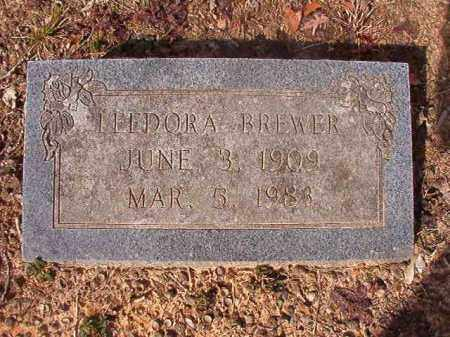 BREWER, LEEDORA - Nevada County, Arkansas | LEEDORA BREWER - Arkansas Gravestone Photos