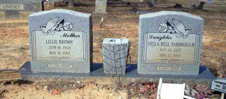 BROWN, LILLIE - Nevada County, Arkansas | LILLIE BROWN - Arkansas Gravestone Photos