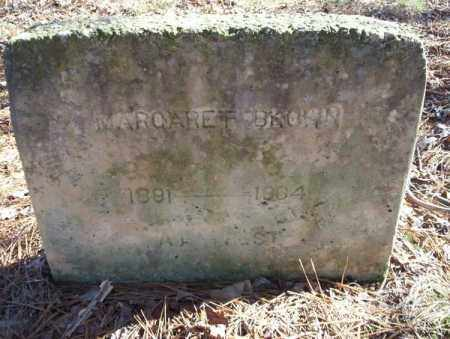 BROWN, MARGARET - Nevada County, Arkansas | MARGARET BROWN - Arkansas Gravestone Photos