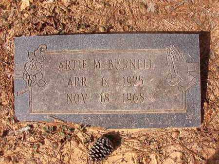 BURNELL, ARTIE M - Nevada County, Arkansas | ARTIE M BURNELL - Arkansas Gravestone Photos